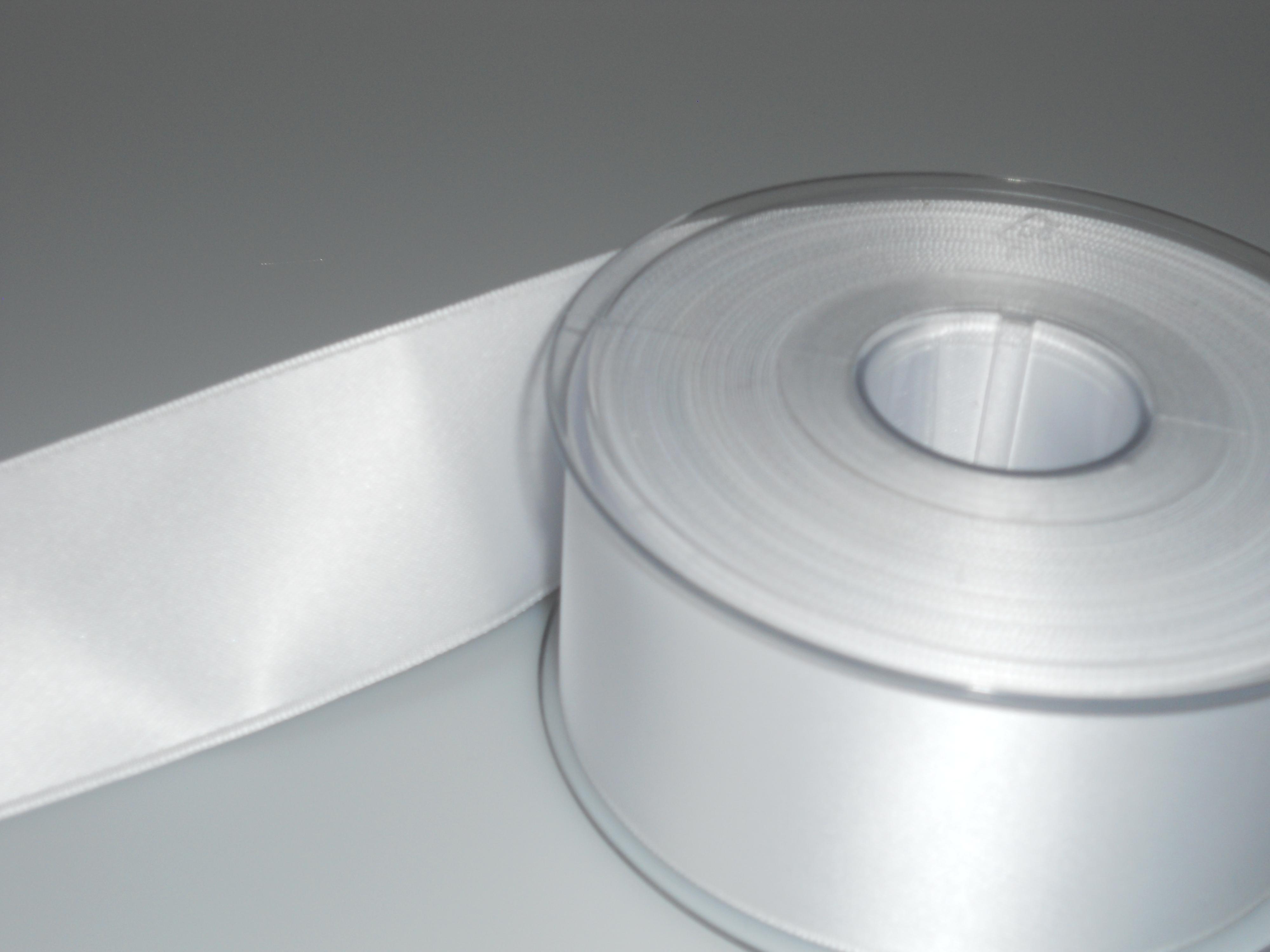 Image of   Satin bånd - Hvid satin bånd - nr 401 10 mm