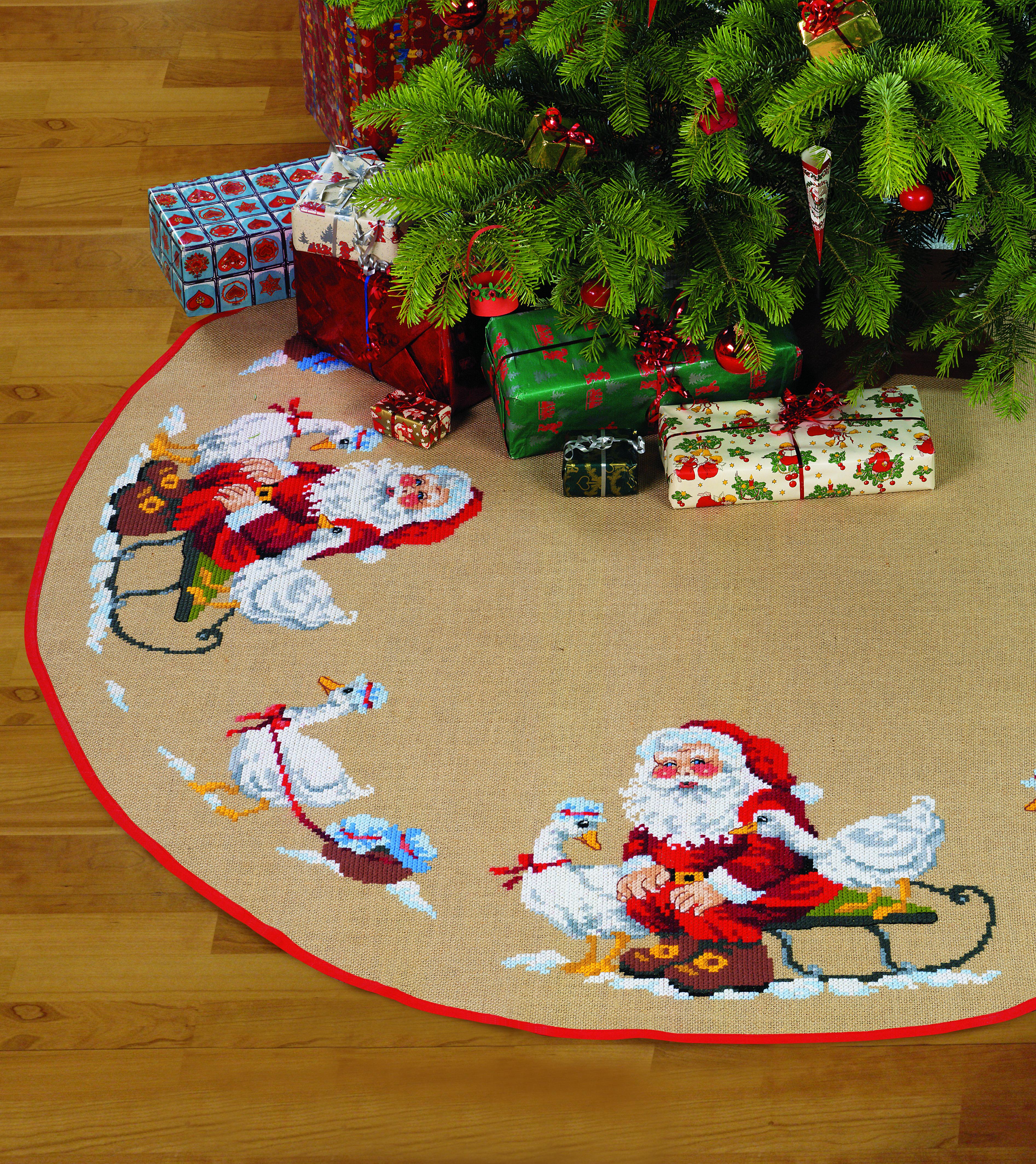 Billede af Juletræstæppe - 45-0290