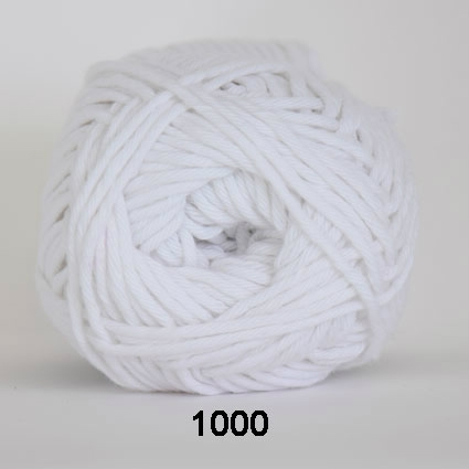 Image of Cotton 8/8 fv 1000 Hvid