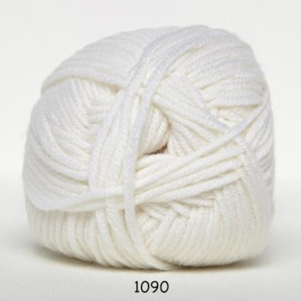 Image of Hjertegarn Extrafine Merino 120 Garn - fv 1090 Hvid