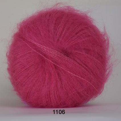 Image of Hjertegarn Silk Kid Mohair Garn - fv 1106 Lys Pink