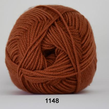 Image of Hjertegarn Extrafine Merino 150 Garn - fv 1148 Rust Rød