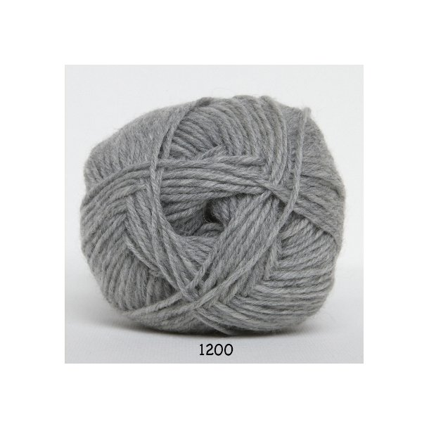 2527352f901 Ciao Trunte - 100% Merino Uld Superwash fv 1200 Lys Grå