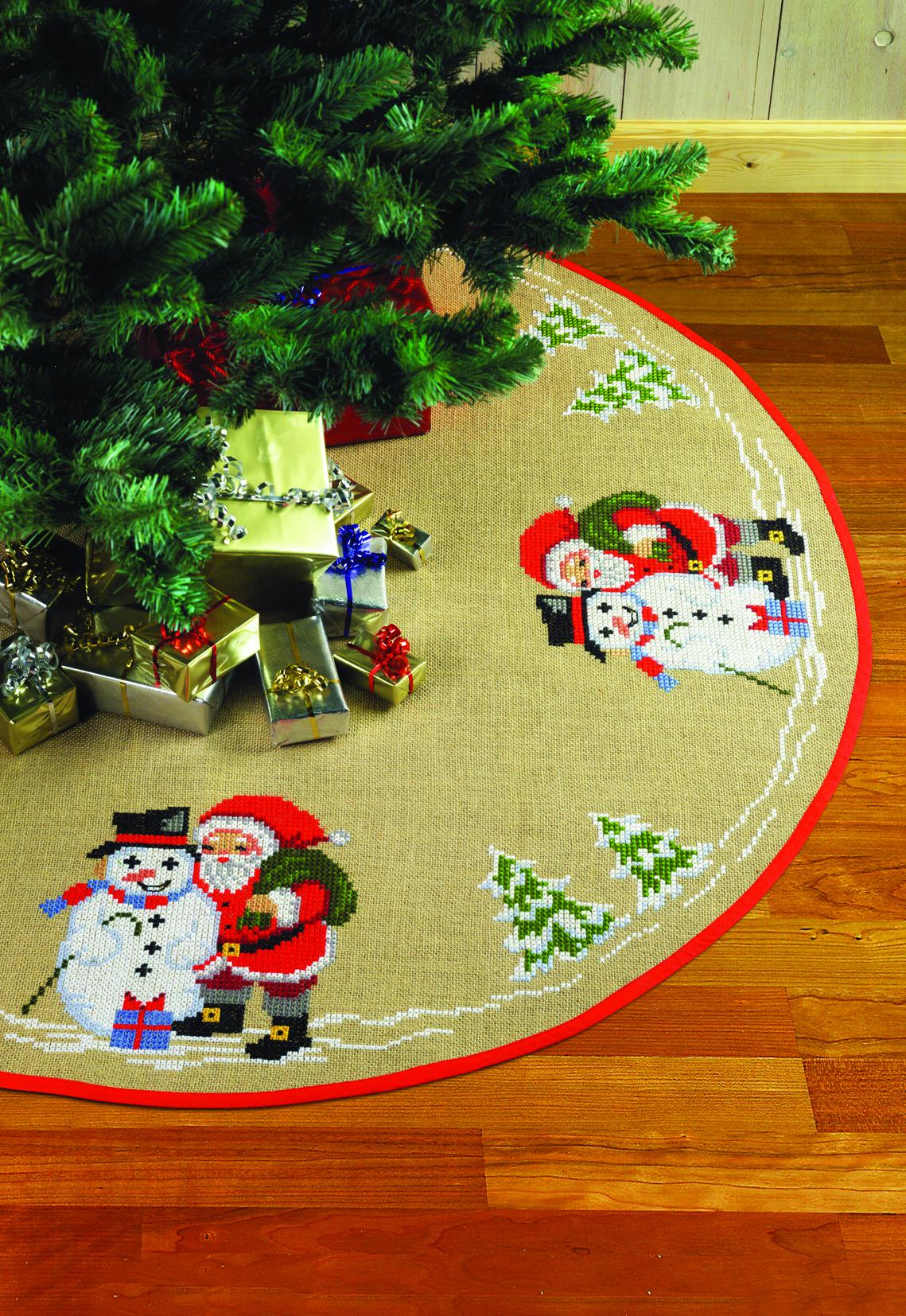 Billede af Juletræstæppe - 45-1218