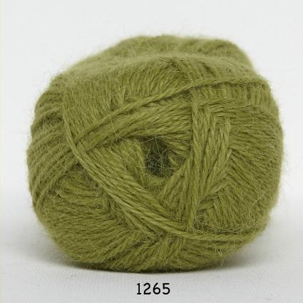 Image of Hjerte Alpaca - Alpaca Uldgarn - fv 1265 Lime Grøn