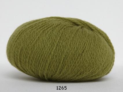 Image of Hjerte Fine Highland Wool - Uldgarn - Hjertegarn - fv 1265 Lime Grøn