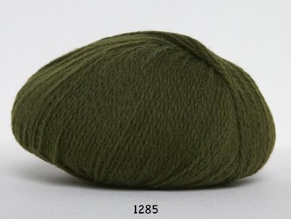 Image of Hjerte Fine Highland Wool - Uldgarn - Hjertegarn - fv 1285 Jagt Grøn