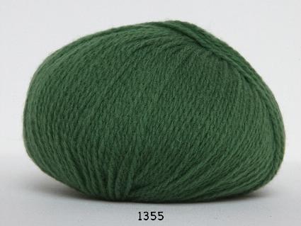 Image of Hjerte Fine Highland Wool - Uldgarn - Hjertegarn - fv 1355 Grøn