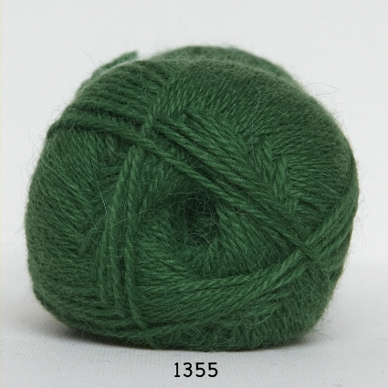 Image of Hjerte Alpaca - Alpaca Uldgarn - fv 1355 Grøn