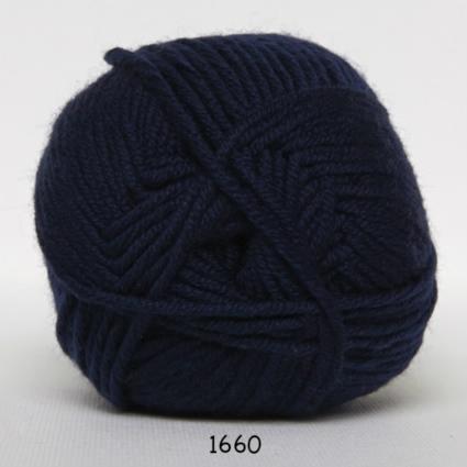 Image of Hjertegarn Extrafine Merino 50 - Uldgarn - Superwash - fv 1660 Mørk Blå