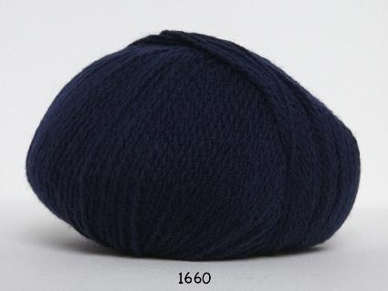 Image of Hjerte Fine Highland Wool - Uldgarn - Hjertegarn - fv 1660 Mørk Blå