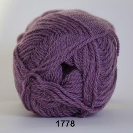 Image of Hjertegarn Exclusive Økologisk Alpaca - 100% Baby Uld fv 1778 Lavendel