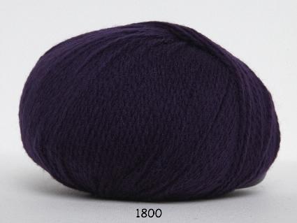 Image of Hjerte Fine Highland Wool - Uldgarn - Hjertegarn - fv 1800 Mørk Lilla