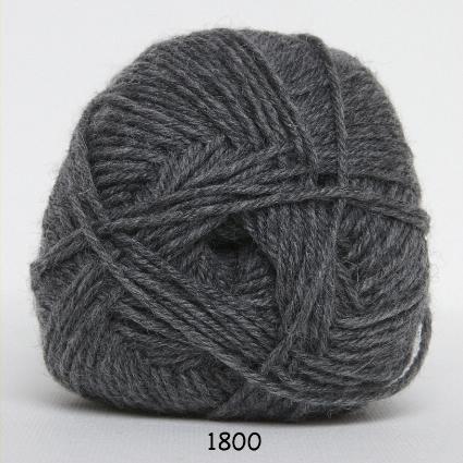 Image of Hjertegarn Ciao Trunte - 100% Merino Uld Superwash fv 1800 Grå