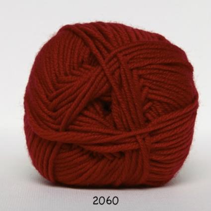 Image of Hjertegarn Extrafine Merino 120 Garn - fv 2060 Rød