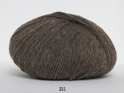 Image of Hjerte Fine Highland Wool - Uldgarn - Hjertegarn - fv 211 Lys Brun