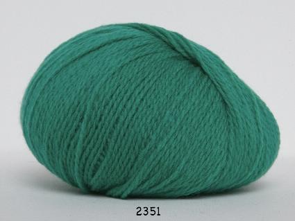 Image of Hjerte Fine Highland Wool - Uldgarn - Hjertegarn - fv 2351 Græs Grøn
