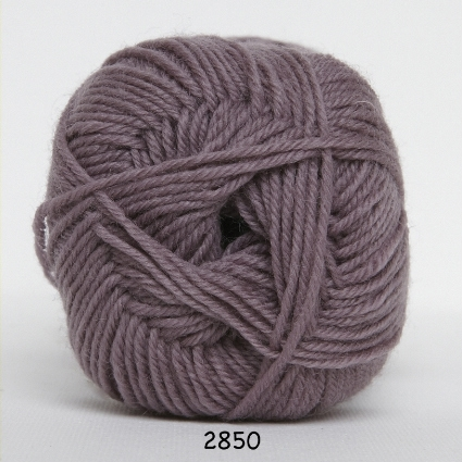 Image of Hjertegarn Ciao Trunte - 100% Merino Uld Superwash fv 2850 Mørk Lavendel