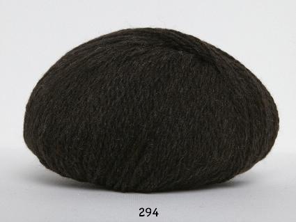 Image of Hjerte Fine Highland Wool - Uldgarn - Hjertegarn - fv 294 Mørk Brun
