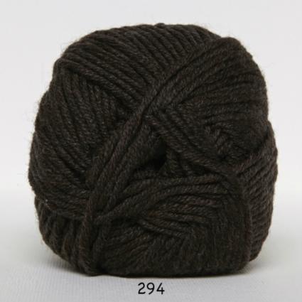 Image of Hjertegarn Extrafine Merino 50 - Uldgarn - Superwash - 294 Mørk Brun