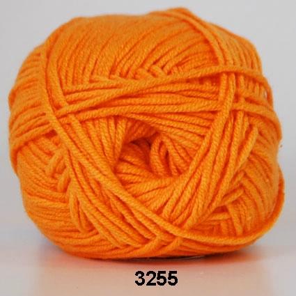 Image of Hjertegarn Roma - 3255 Lys Orange