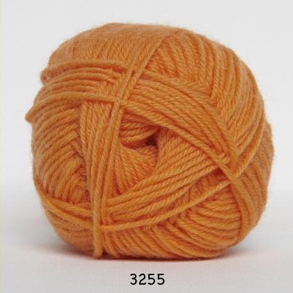Image of Hjertegarn Ciao Trunte - 100% Merino Uld Superwash fv 3255 Orange