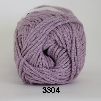 Image of Cotton 8/8 fv 3304 Gammel Rosa