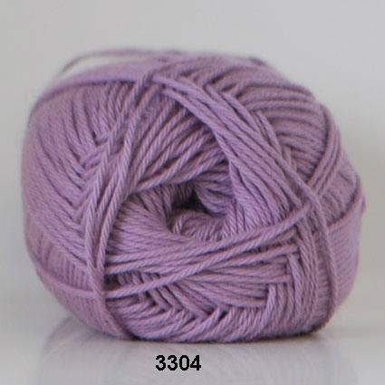 Image of Cotton nr. 8 - Bomuldsgarn - Hæklegarn - fv 3304 Lavendel