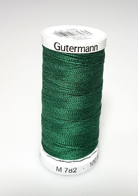 Image of Gütermann - Ekstra stærk sytråd - 340 Mørk Grøn
