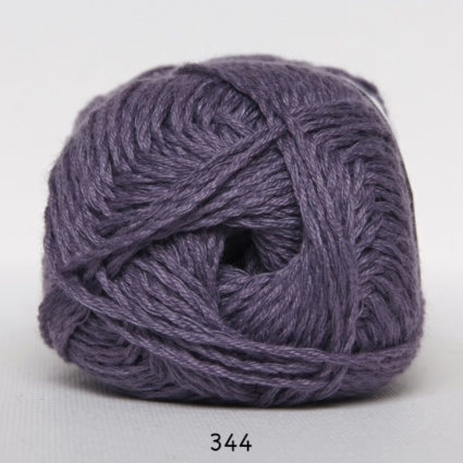 Image of Arezzo Lin - Bambusgarn - Bomuldsgarn - fv 344 Mørk Lavendel