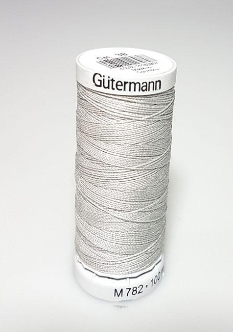 Image of Gütermann - Ekstra stærk sytråd - 38 Muse Grå