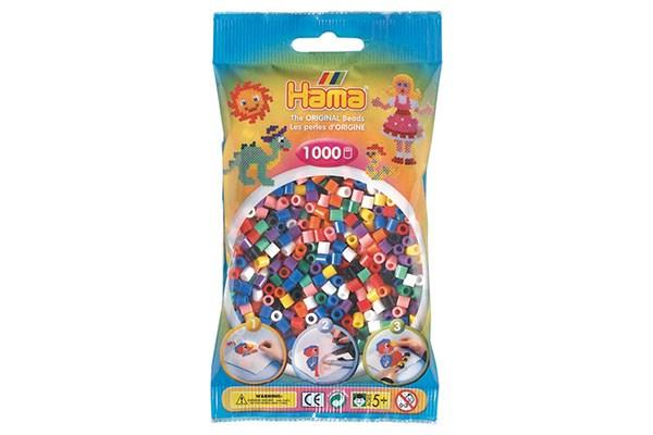 Image of Hama Midi Perler - 207-00 - Mix - 1000 stk