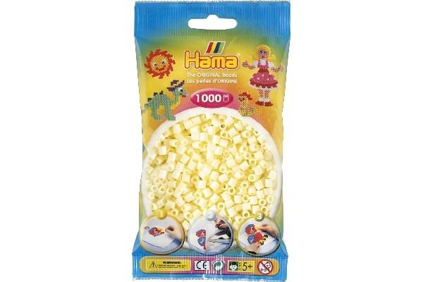 Image of Hama midi perler - 207-02 - Creme - 1000 stk