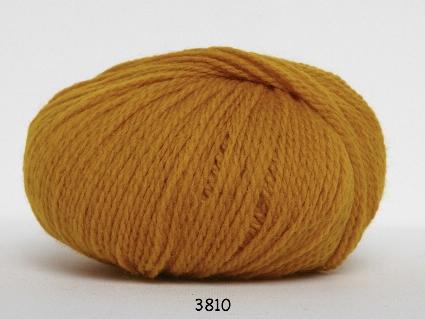 Image of Hjerte Fine Highland Wool - Uldgarn - Hjertegarn - fv 3810 Karry Gul