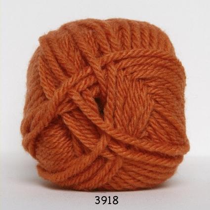 Image of Hjertegarn Thule Uldgarn/Akrylgarn - 3918 Orange