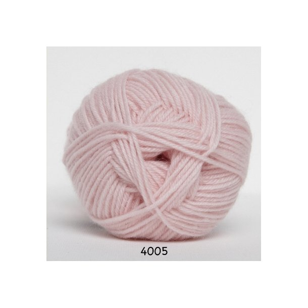 Flot Ciao Trunte - Merino Baby uldgarn - fv 4005 Baby Lyserød FD-61
