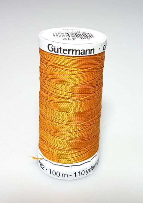 Image of Gütermann - Ekstra stærk sytråd - 412 Gylden