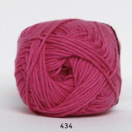 Image of Cotton nr. 8 - Bomuldsgarn - Hæklegarn - fv 434 Pink