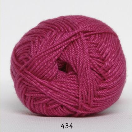 Image of Hjertegarn Diamond Cotton - merceriseret bomuld - fv 434 Pink