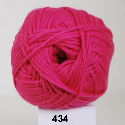 Image of Hjertegarn Alicante - Blød Bomuldsgarn - 434 Pink