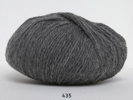 Image of Hjerte Fine Highland Wool - Uldgarn - Hjertegarn - fv 435 Grå