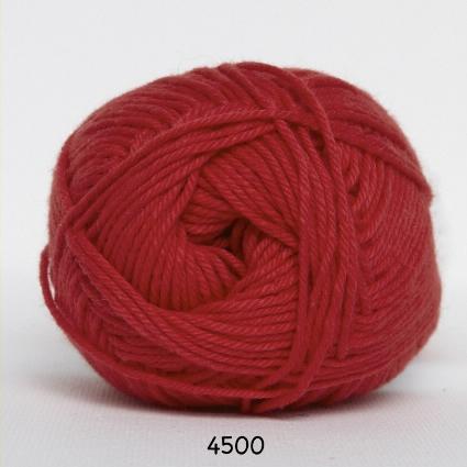 Image of Cotton nr. 8- Bomuldsgarn - Hæklegarn - fv 4500 Rød