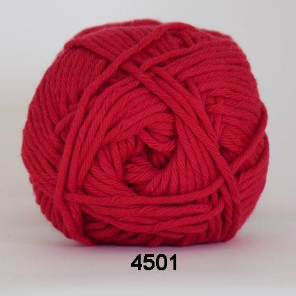 Image of Cotton 8/8 fv 4501 Rød