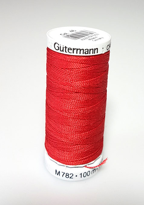 Image of Gütermann - Ekstra stærk sytråd -46 Mørk Rød