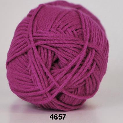 Image of Hjertegarn Roma - 4657 Mørk Pink