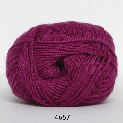 Image of Hjertegarn Diamond Cotton - merceriseret bomuld - fv 4657 Mørk Pink