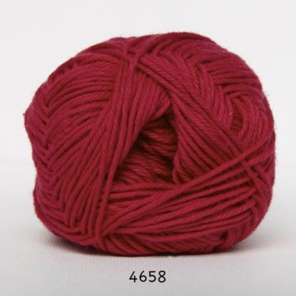 Image of Cotton nr. 8 - Bomuldsgarn - Hæklegarn - fv 4658 Mørk Pink