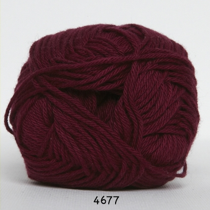 Image of Hjertegarn Blend Tendens Garn - fv 4677 Bordeaux