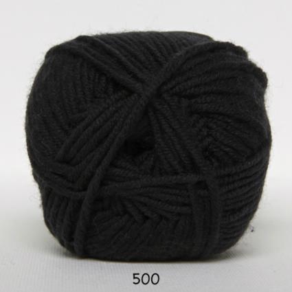 Image of Hjertegarn Extrafine Merino 50 - Uldgarn - Superwash - 500 Sort