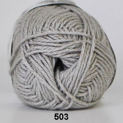 Image of Cotton Linen - Bomuldsgarn - Hørgarn - fv 503 ( 434 ) Lys Grå